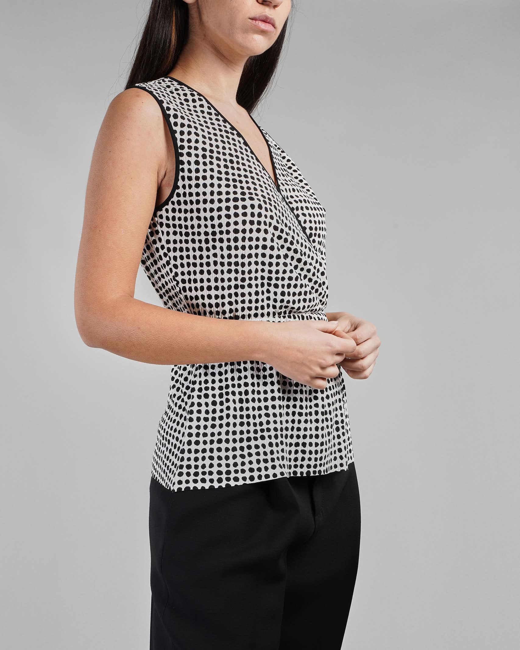 Top in jersey a micro plissè Penny Black PENNY BLACK | Maglia | LUNARE1
