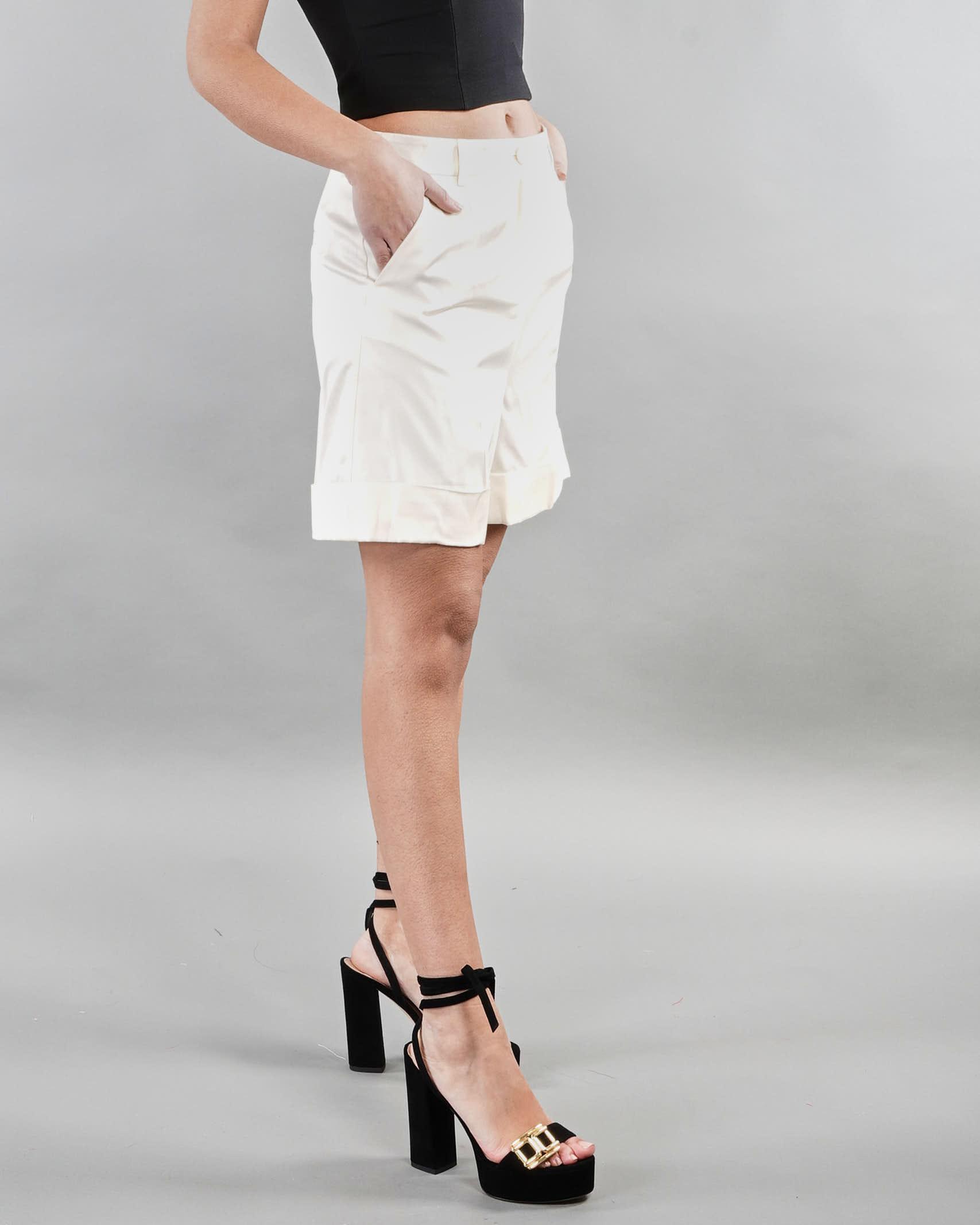 Shorts in tessuto twill Penny Black PENNY BLACK | Shorts | ORIENTAL1