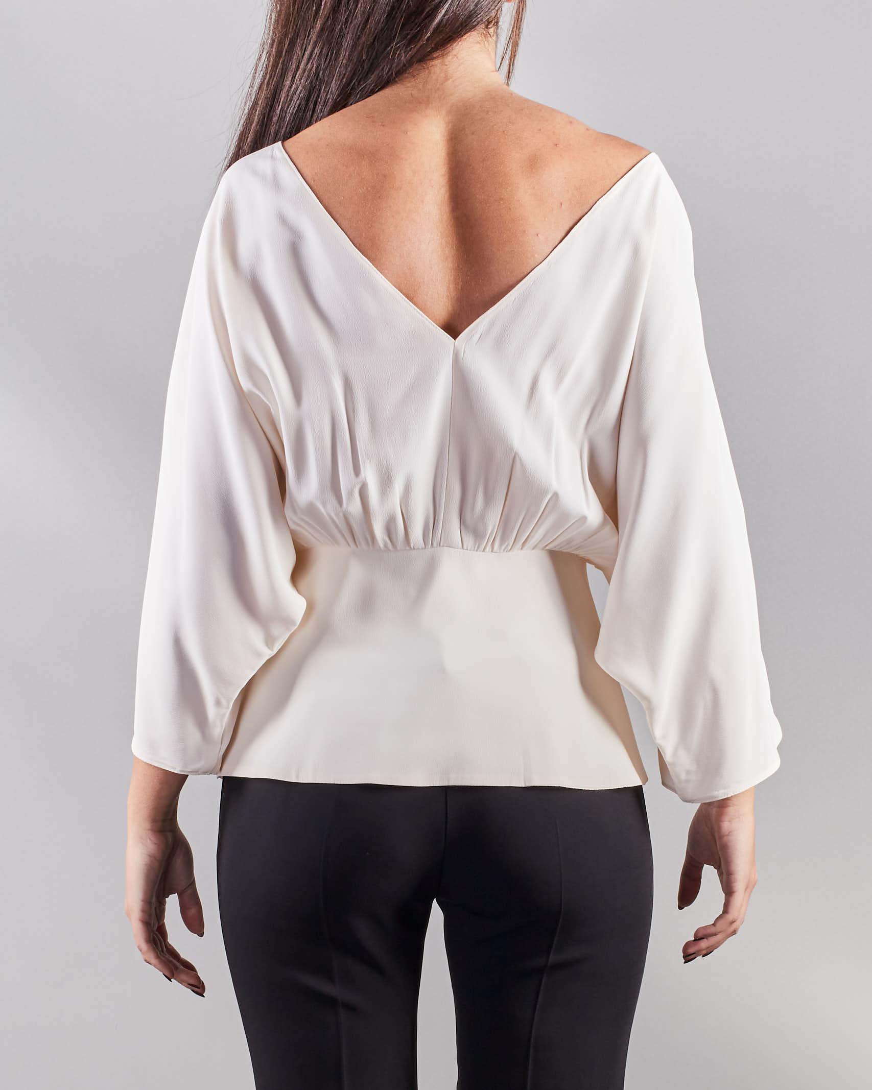 Blusa con accessorio Simona Corsellini SIMONA CORSELLINI   Blusa   BL00601TACE0002359