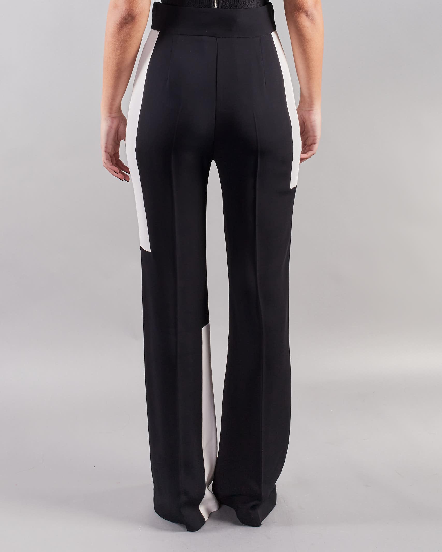 Pantalone bicolor a vita alta Simona Corsellini SIMONA CORSELLINI | Pantalone | PA00301TCAD0001381