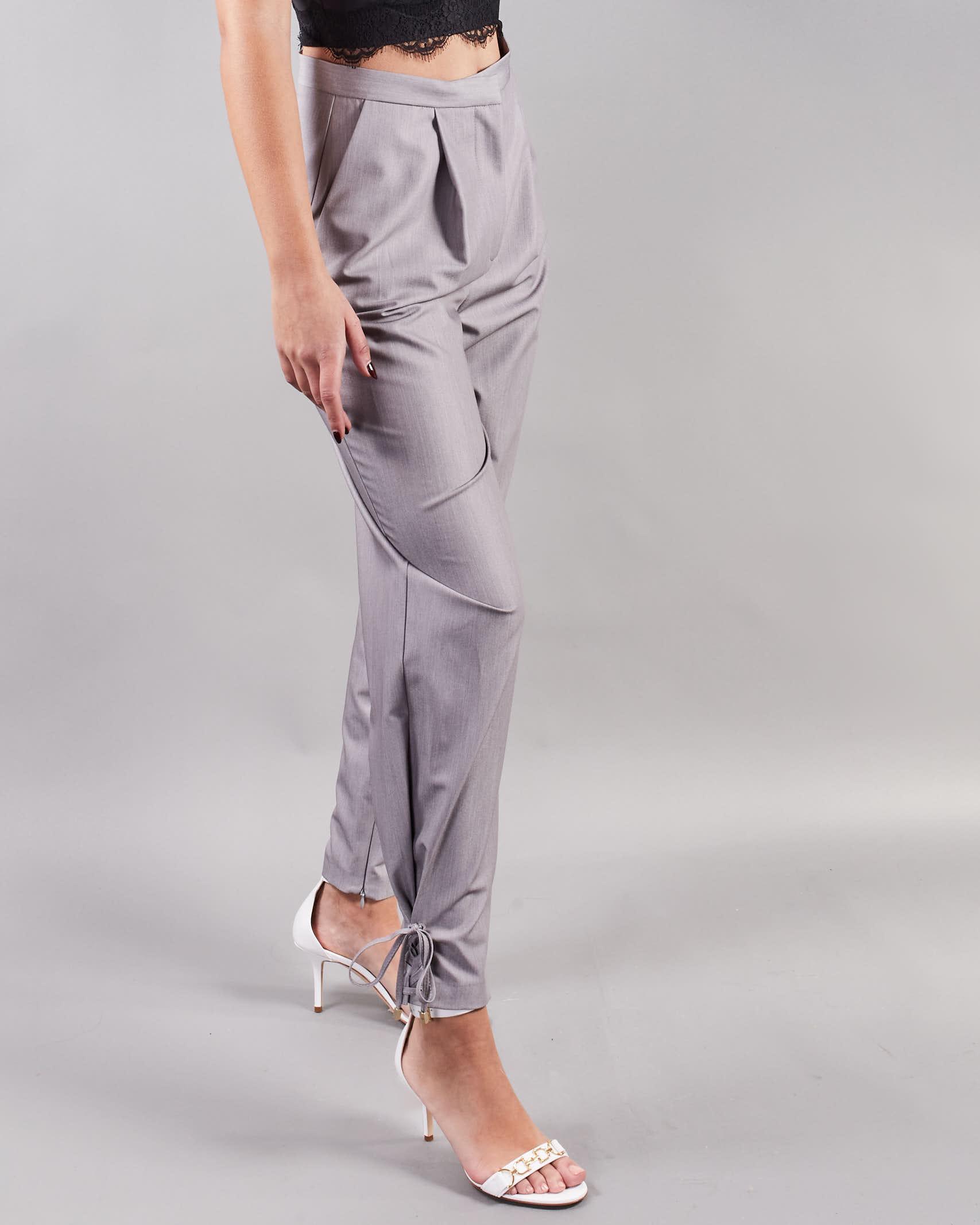 Pantalone con pences Simona Corsellini SIMONA CORSELLINI | Pantalone | PA00602TTEL0002505