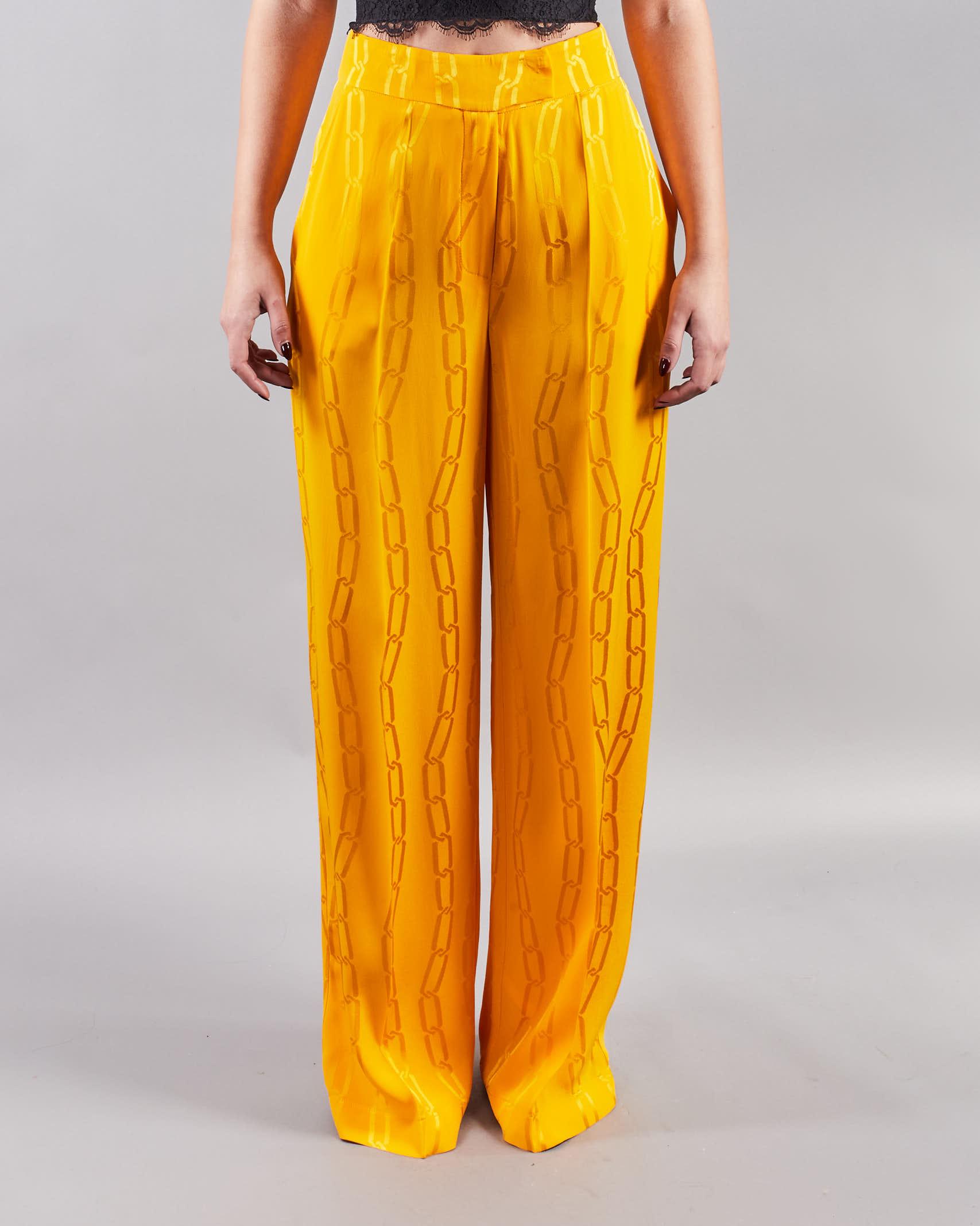 Pantalone stampa catene Simona Corsellini SIMONA CORSELLINI | Pantalone | PA03201TJAQ0020501