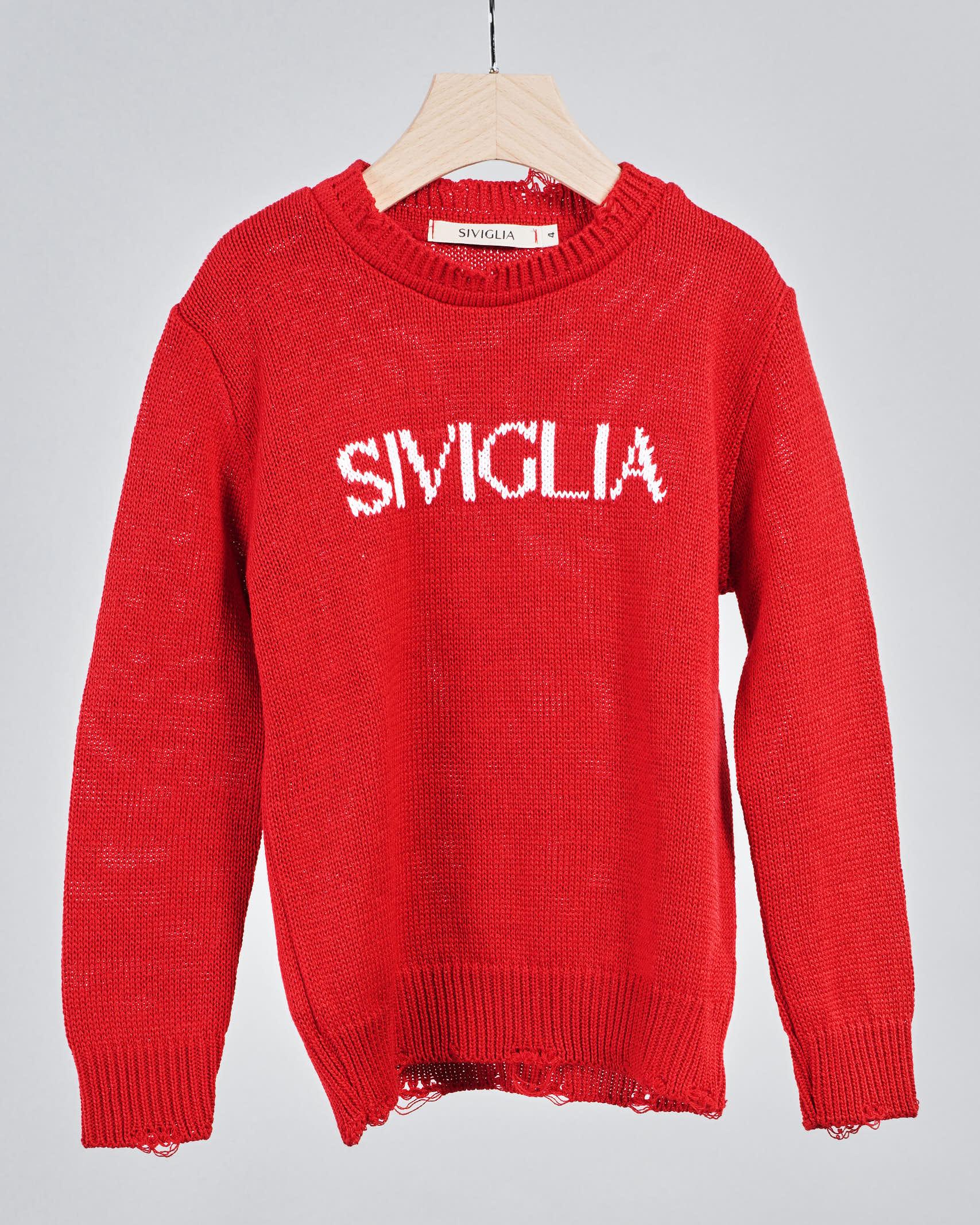 Maglia con logo Siviglia SIVIGLIA   Maglia   SW3199ROSSO