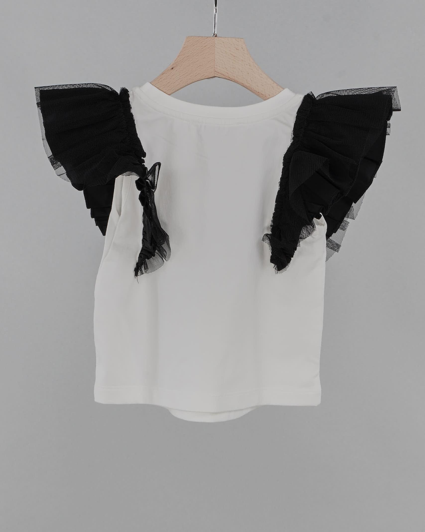 T-shirt con maniche in taffetà Twinset TWIN SET | Camicia | GJ207H2722