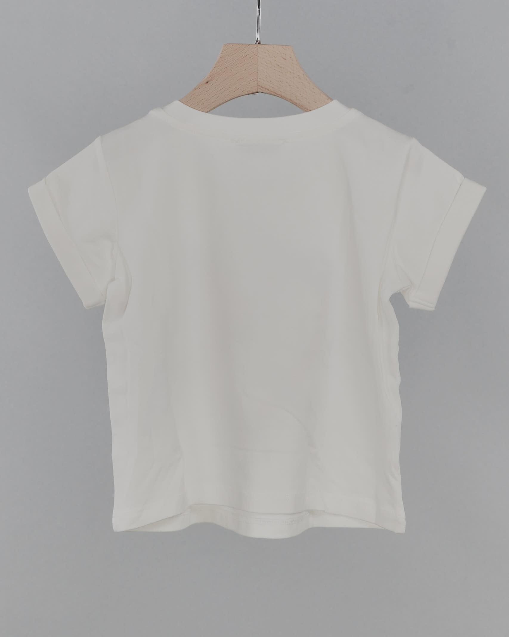 T-shirt con logo e strass Twinset TWIN SET | T-shirt | GJ2134526