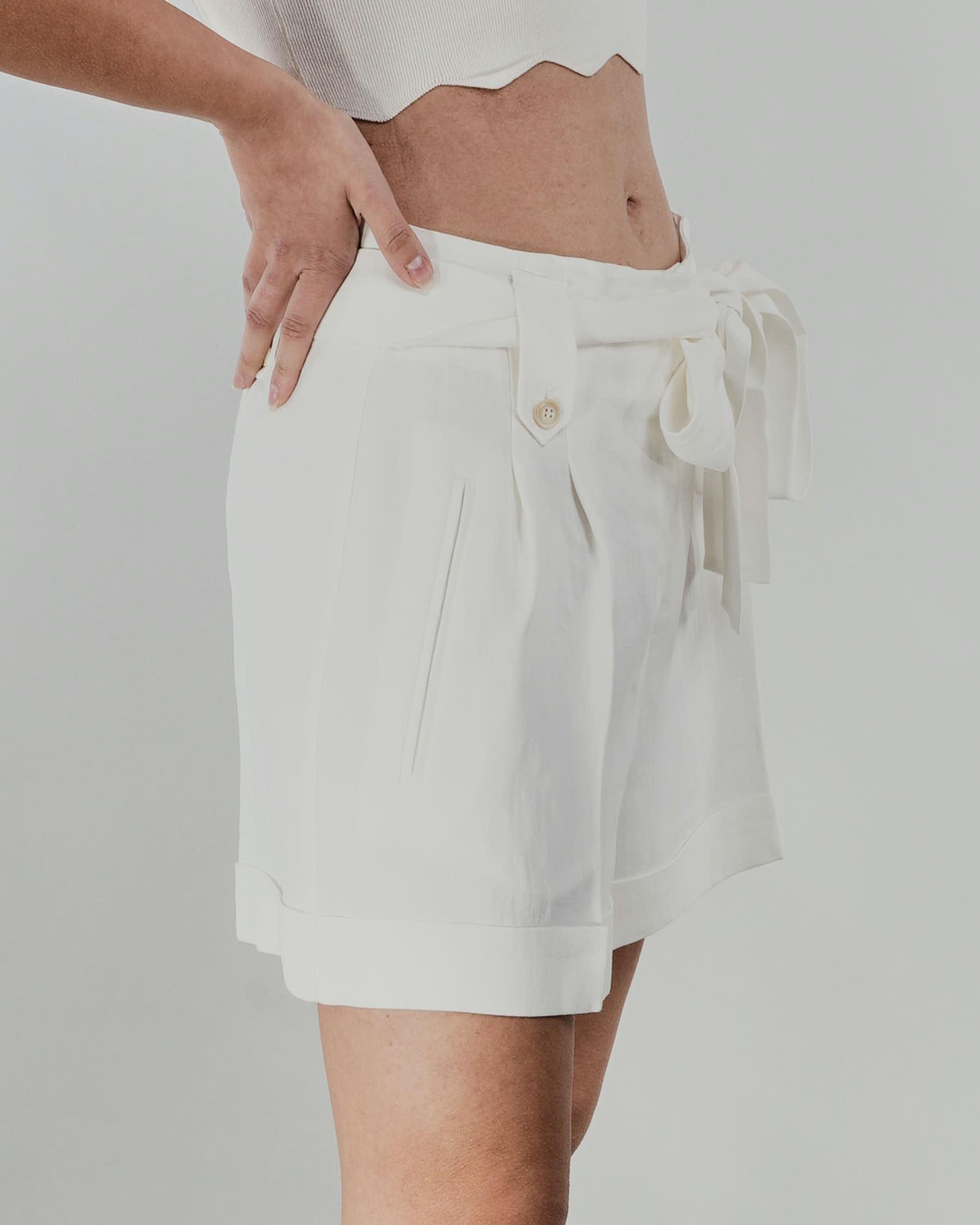 Shorts in misto lino Twinset TWIN SET | Shorts | TT2586827