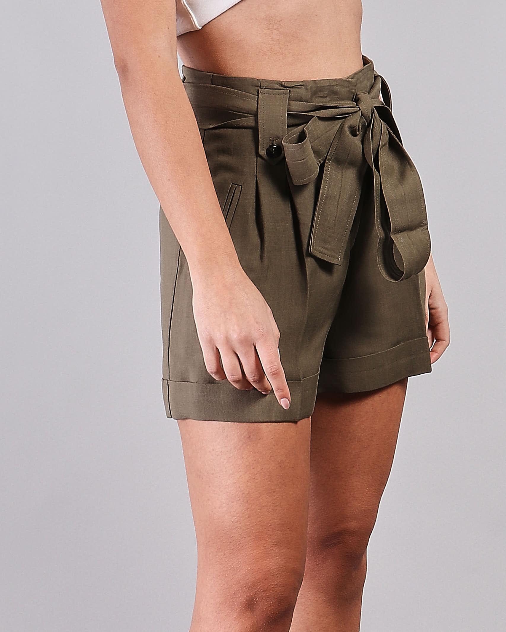 Shorts in misto lino Twinset TWIN SET | Shorts | TT2586914