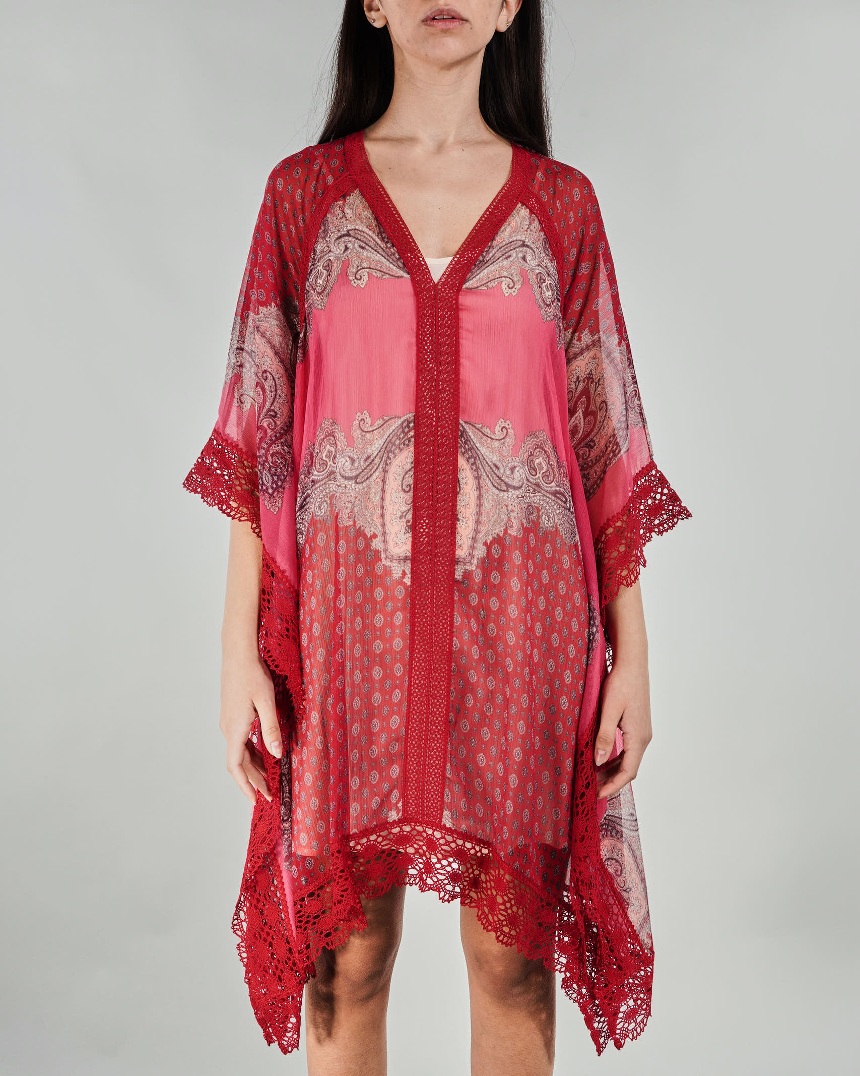 Abito kaftano con stampa foulard Twinset TWIN SET | Kaftano | TT268C6039