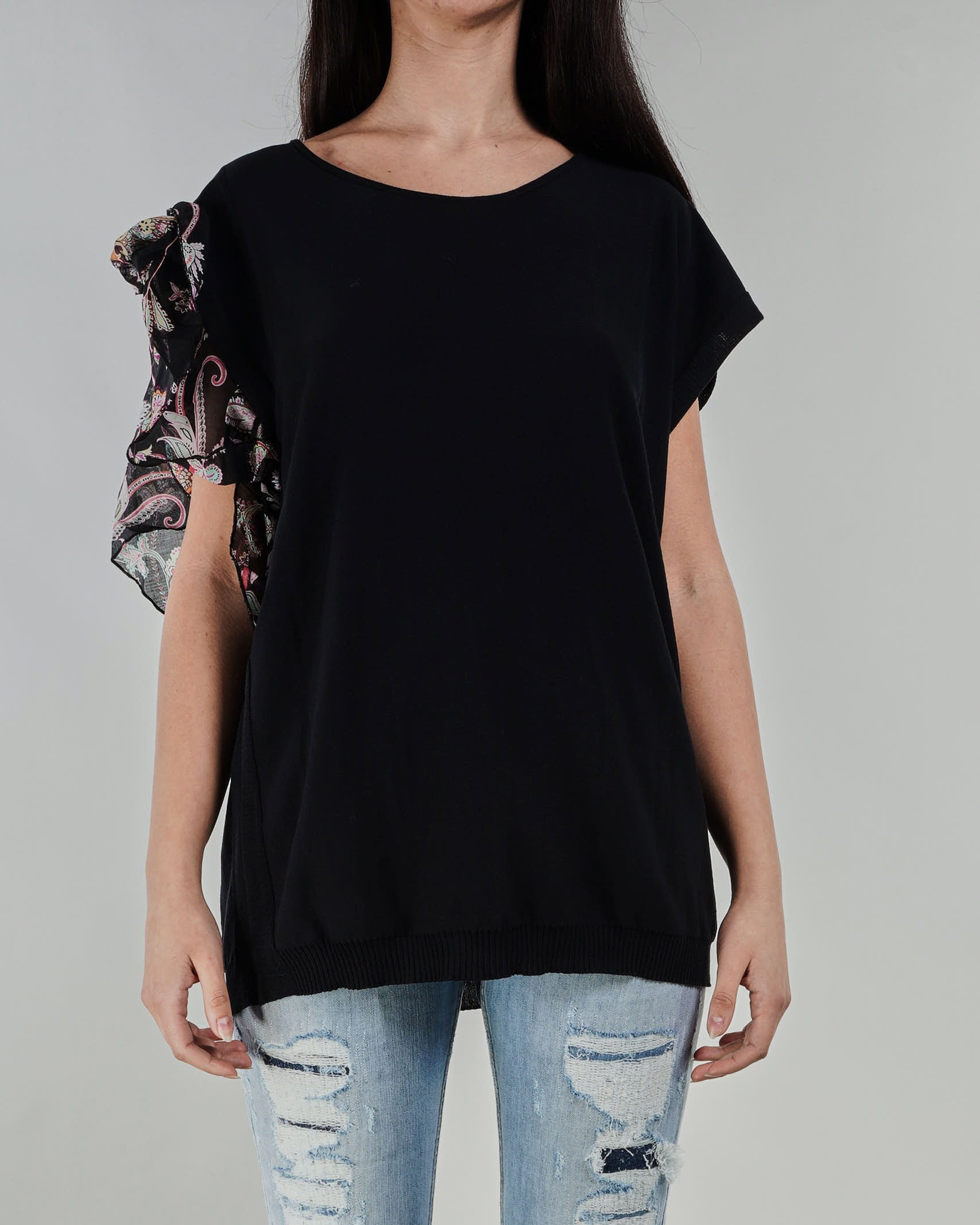 T-shirt con manica a volant Twinset TWIN SET   Maglia   TT30806147