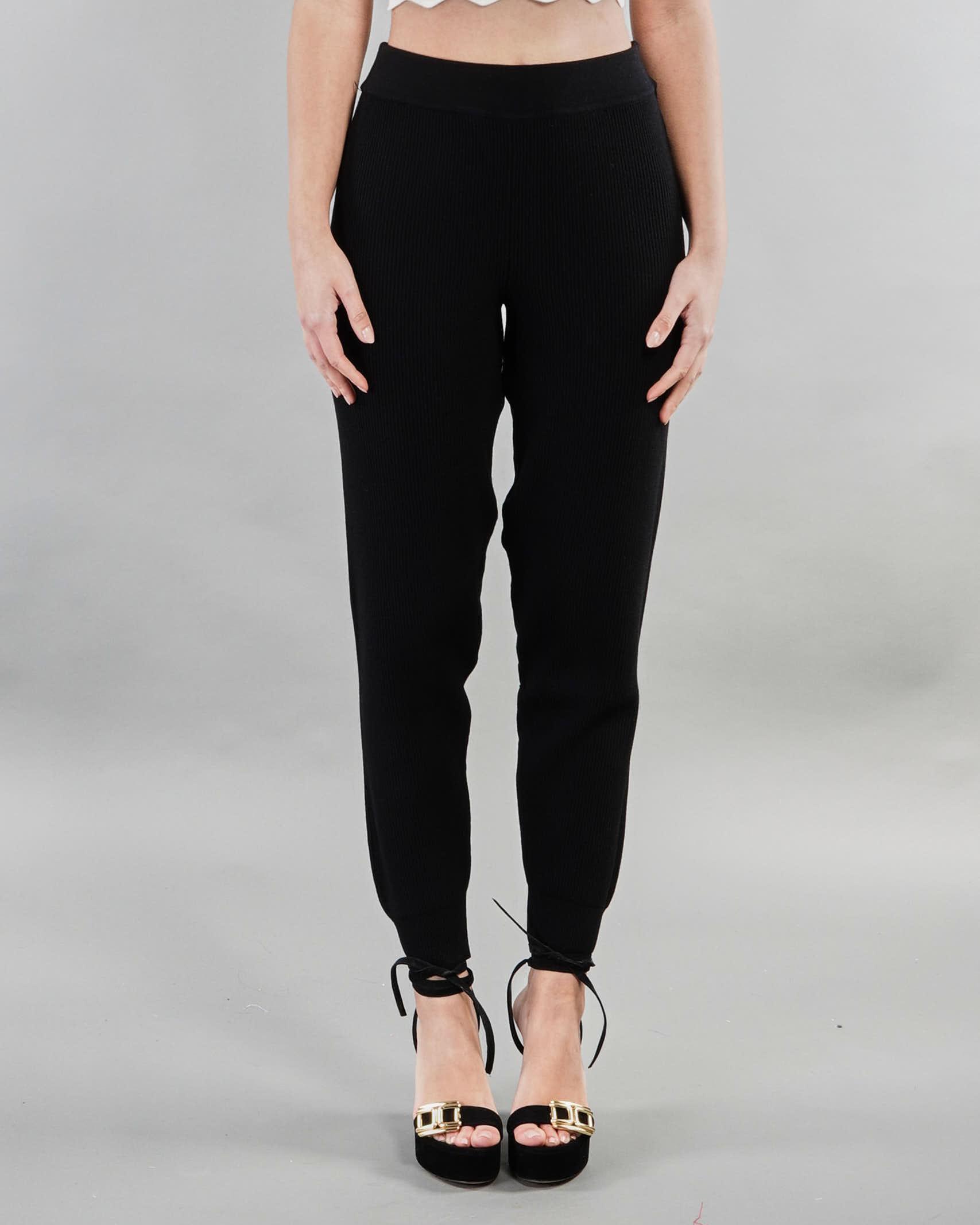 Pantalone in maglia Vicolo VICOLO | Pantalone | 7023HNERO
