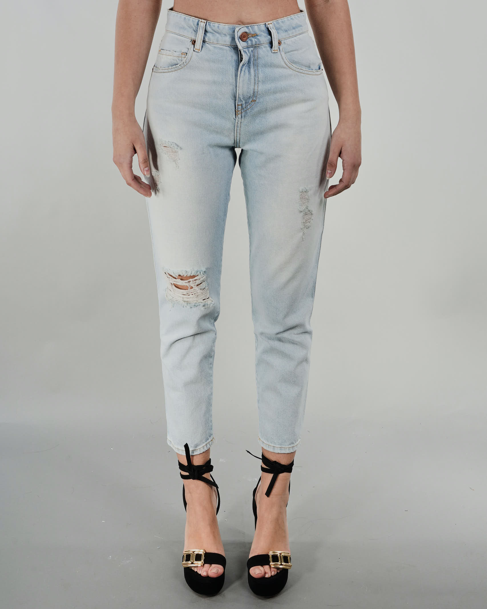 Jeans con rotture Vicolo VICOLO | Jeans | DH0038DENIM