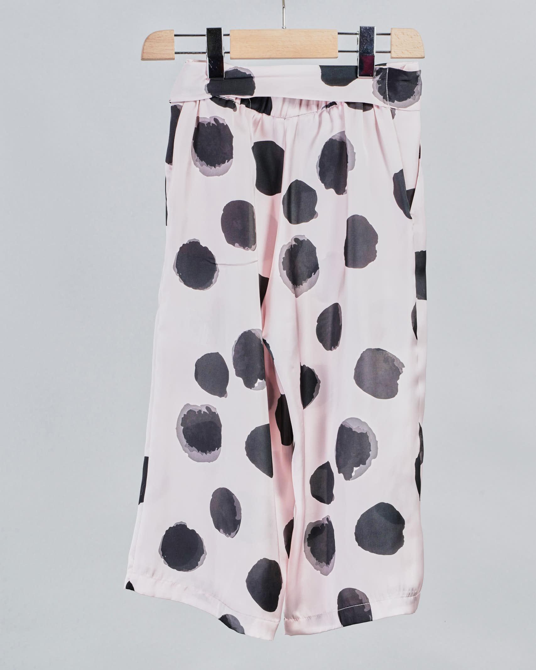 Pantalone fantasia pois all over Vicolo VICOLO | Pantalone | P0132CN
