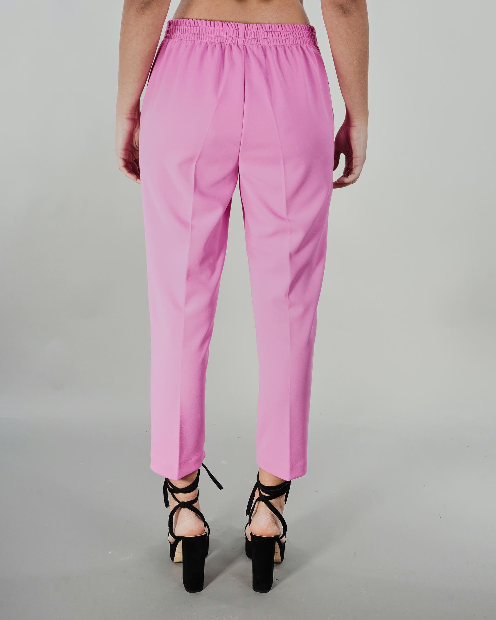 Pantalone con elastico in vita Vicolo VICOLO   Pantalone   TH0746ROSA