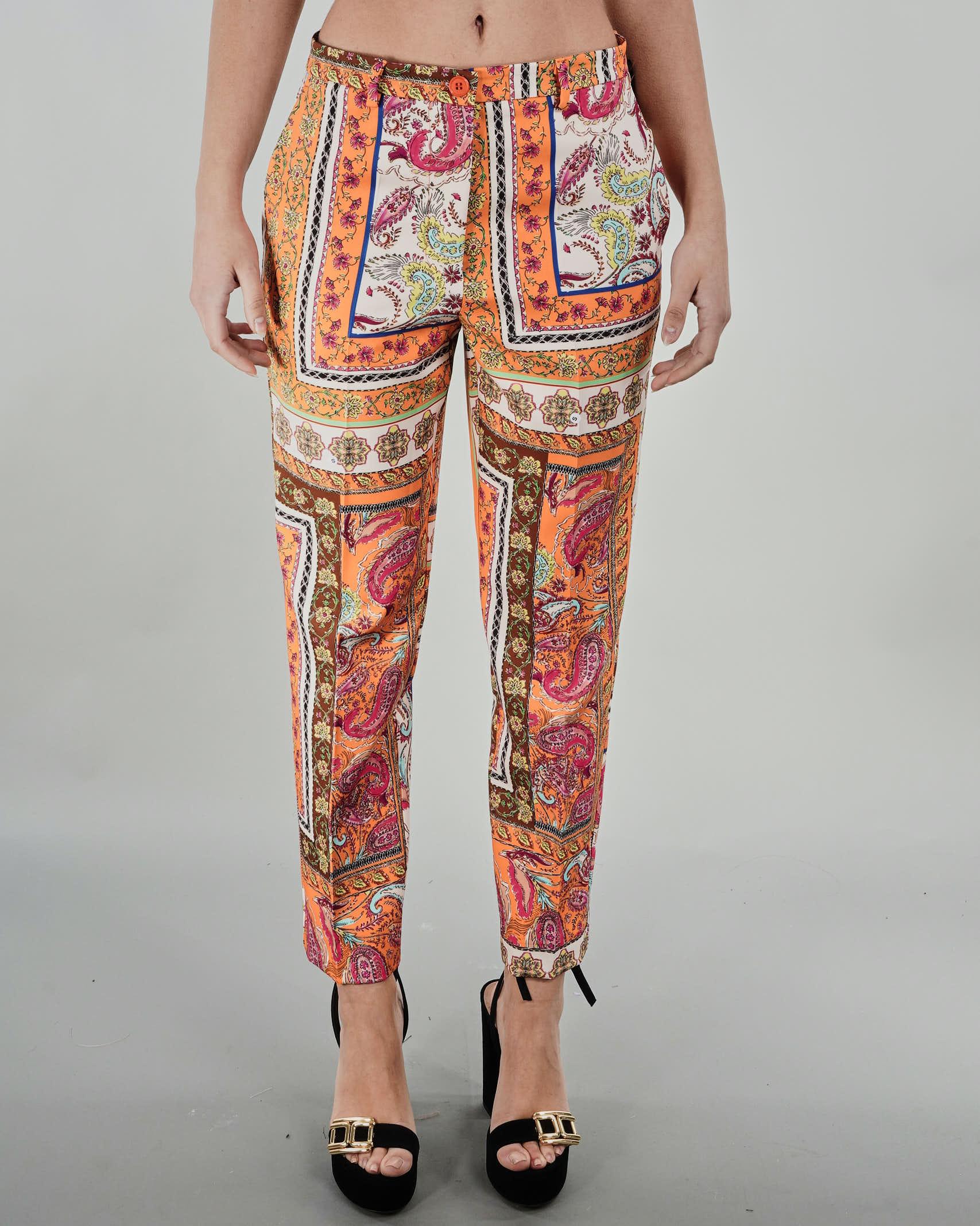 Pantalone fantasia Vicolo VICOLO   Pantalone   TH1459MULTICOLOR