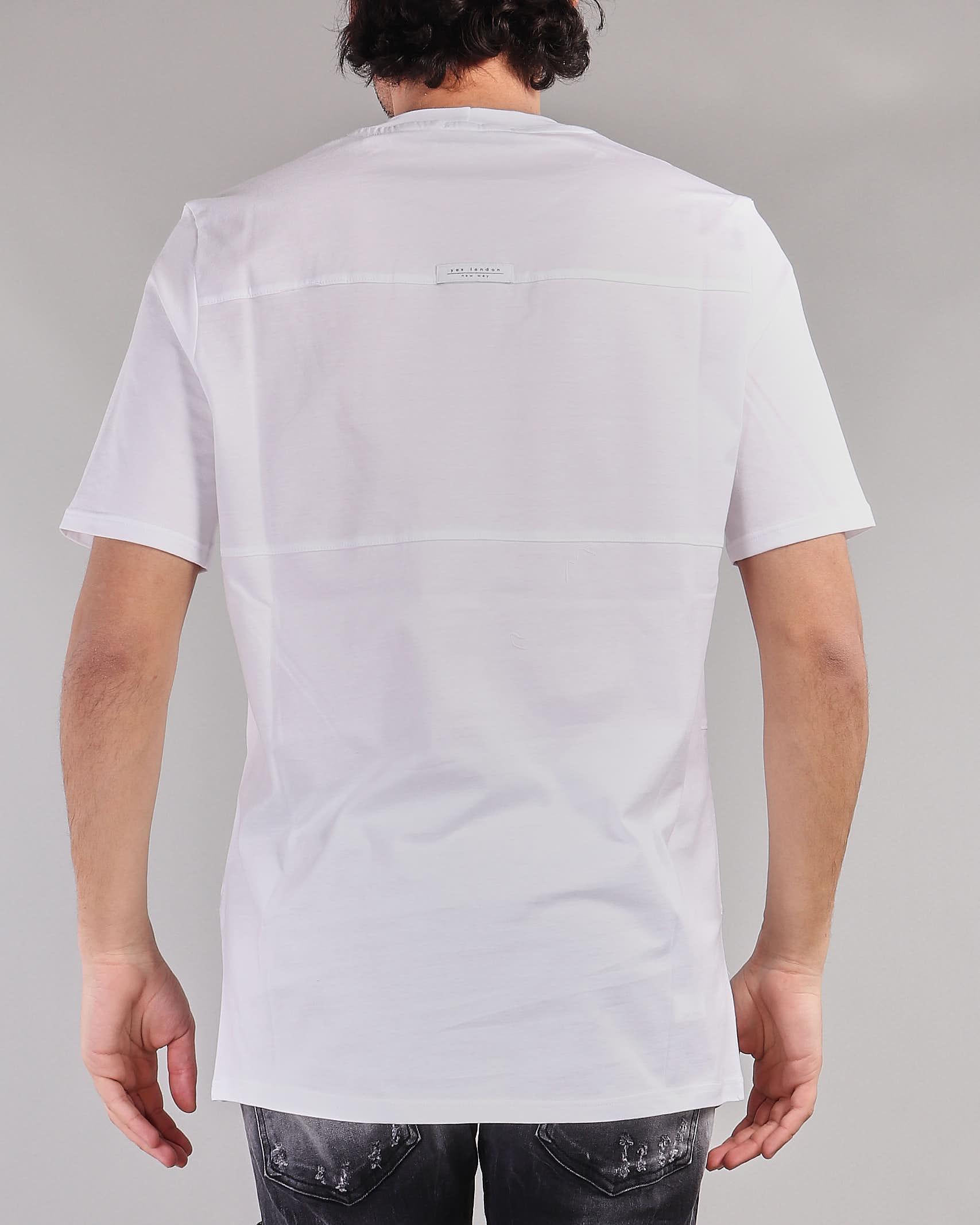 T-shirt in cotone Yes London YES LONDON | T-shirt | XM3864BIANCO