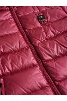 Giubbotto Piumino imbottito a righe con cappuccio Kimberly Blauer BLAUER | Giubbotto | BLDC03128568BA