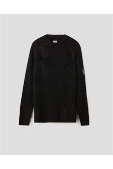 Maglione Merino Wool Fibre Mixed Lens Sweater C.P. Company C.P. COMPANY | Maglione | 09CMKN221A005292A999