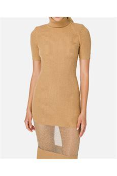 Abito midi in maglia e scollo dolcevita Elisabetta Franchi ELISABETTA FRANCHI | Abito | AM41S06E2470