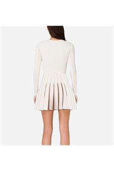 Mini abito con plissè a contrasto Elisabetta Franchi ELISABETTA FRANCHI | Abito | AM50S07E2K47