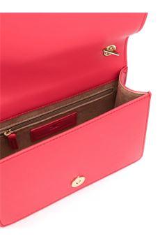 Pochette a tracolla con catena e logo oro light Elisabetta Franchi ELISABETTA FRANCHI | Borsa | BS78A06E2620