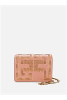 Borsa pochette a tracolla con logo borchiato Elisabetta Franchi ELISABETTA FRANCHI | Borsa | BS91A07E2W71