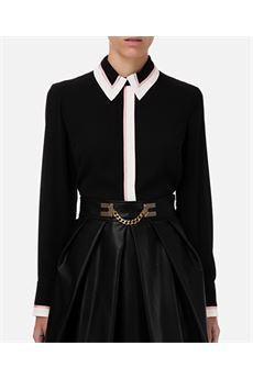 Camicia con bordi a contrasto Elisabetta Franchi ELISABETTA FRANCHI | Camicia | CA29206E2685