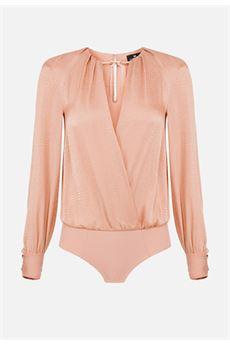 Body camicia con fiocchetto Elisabetta Franchi ELISABETTA FRANCHI | Camicia | CB00607E2614
