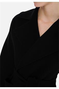 Cappotto a vestaglia con revers Elisabetta Franchi ELISABETTA FRANCHI | Cappotto | CP31W07E2110
