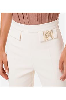 Pantalone skinny con ricamo Elisabetta Franchi ELISABETTA FRANCHI | Pantalone | PA35906E2193