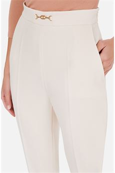 Pantalone capri con pences Elisabetta Franchi ELISABETTA FRANCHI | Pantalone | PA36406E2193