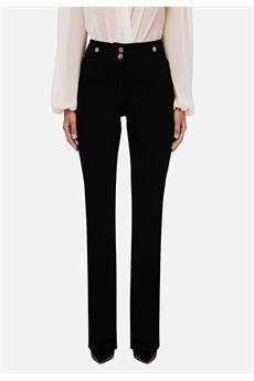 Pantalone a zampa Elisabetta Franchi ELISABETTA FRANCHI | Jeans | PJ74I06E2110