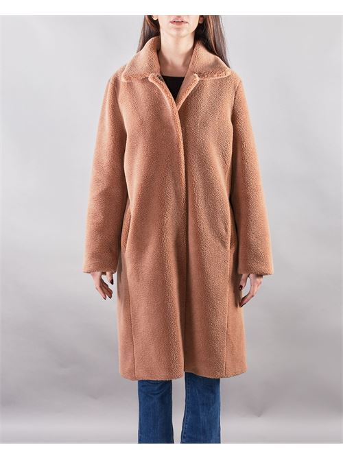 Cappotto con retro 'BE NICE' Glox GLOX | Cappotto | GL180MARRONE