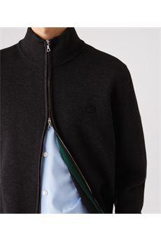 Cardigan in lana con collo alto e zip Lacoste LACOSTE | Maglione | AH1955EL6