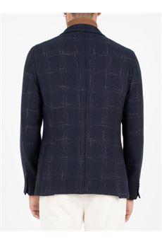 Giacca check in lana-cotone Manuel Ritz MANUEL RITZ | Giacca | 2932G203820364089