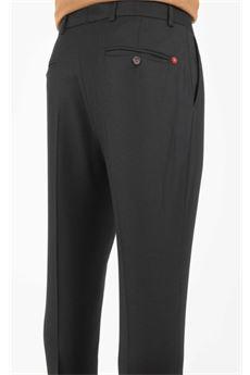 Pantalone con pinces in flanella Manuel Ritz MANUEL RITZ | Pantalone | 2932P164820050199