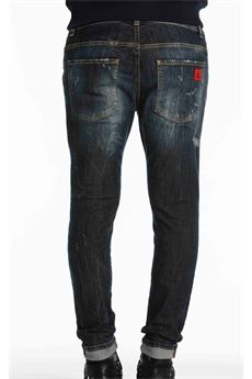 Jeans in denim Destroyed Patriòt PATRIOT | Jeans | PKAY1103DENIM