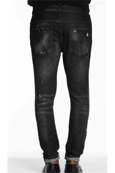 Jeans in denim Destroyed Patriòt PATRIOT | Jeans | SKY1119NERO