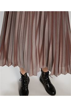 Gonna in georgette laminata Penny Black PENNY BLACK | Gonna | NUVOLOSO2