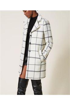 Cappotto in panno jacquard Twin Set TWIN SET | Cappotto | TP224A5587