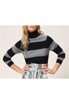 Maglia dolcevita in cashmere e lana Twin Set TWIN SET | Maglione | TT30115749