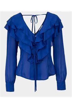 Camicia con rouches Vicolo VICOLO | Camicia | TW0118BLU