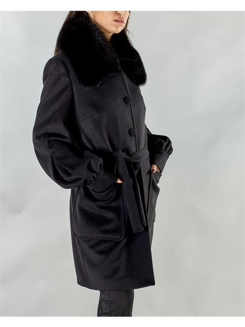 CAPPOTTO IN PANNO YES LONDON YES LONDON | Cappotto | YL0420NERO