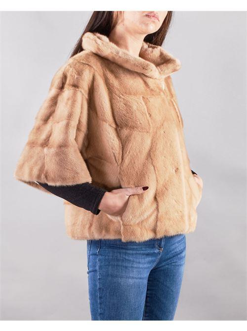 Giacca corta in pelliccia di visone Yes London YES LONDON | Pelliccia | YL5864MIELE