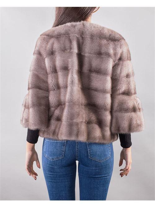 giacca in pelliccia visone Yes London YES LONDON | Pelliccia | YL7010GRIGIO