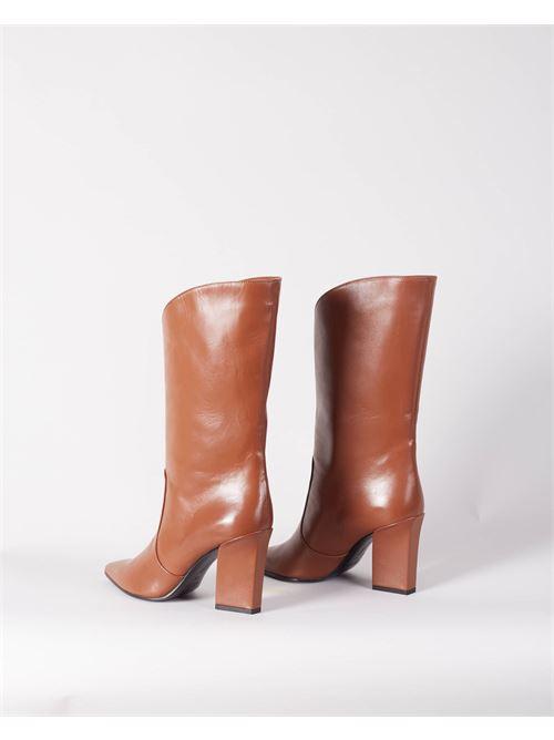 Stivali con dettaglio gambale Aldo Castagna ALDO CASTAGNA | Stivali | VITTORIATABACCO