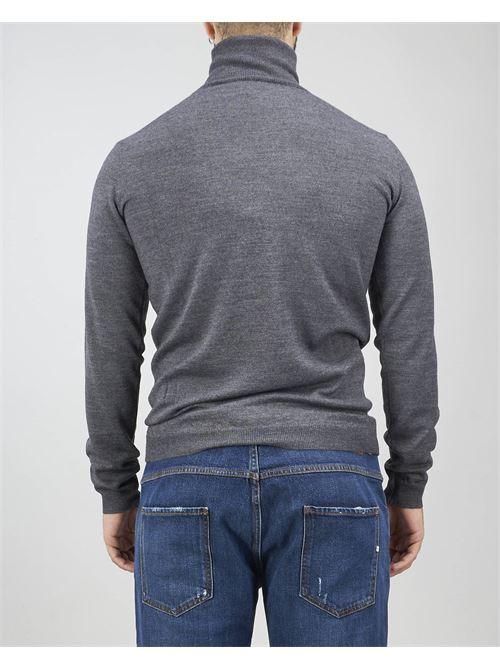 Maglia a collo alto in lana rasata Alessandro Dell'Acqua ALESSANDRO DELL'ACQUA | Maglia | AD0085DT202470