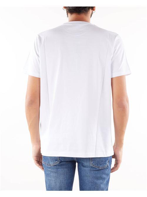 T-shirt con stampa logo Alessandro Dell'Acqua ALESSANDRO DELL'ACQUA | T-shirt | AD0800M020510