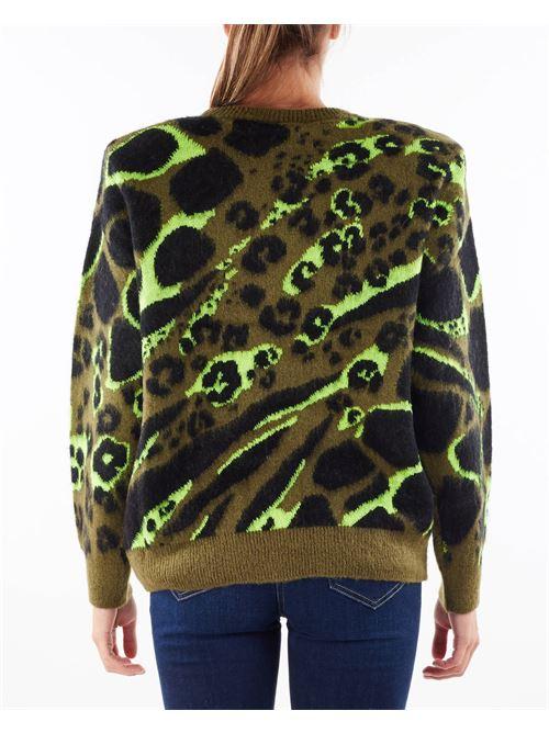 Pullover in lana Camou Aniye By ANIYE BY | Maglia | 181003391