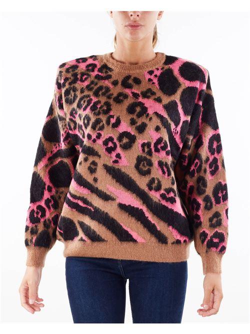 Pullover in lana Camou Aniye By ANIYE BY   Maglia   181003405