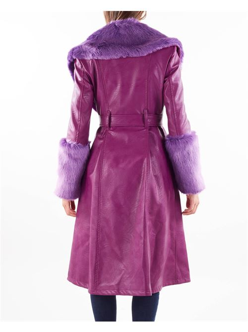 Cappotto Penelope in ecopelle Aniye By ANIYE BY   Cappotto   181317698